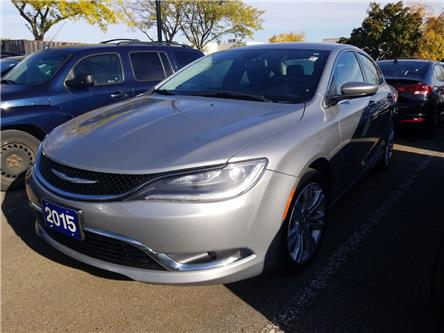 2015 Chrysler 200 Limited (Stk: P41710A) in Mississauga - Image 1 of 8