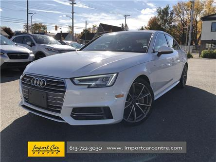 2017 Audi A4 2.0T Technik (Stk: 011559) in Ottawa - Image 1 of 26