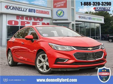 2018 Chevrolet Cruze Premier Auto (Stk: CLDUR6313) in Ottawa - Image 1 of 28
