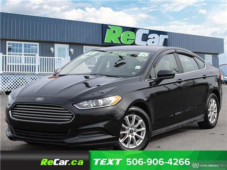2015 Ford Fusion S (Stk: 191115A) in Saint John - Image 1 of 23