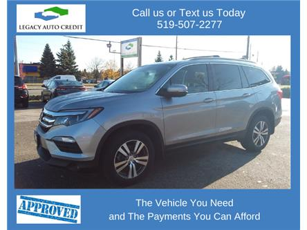 2017 Honda Pilot Touring (Stk: L9177C) in Waterloo - Image 1 of 14