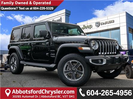 2020 Jeep Wrangler Unlimited Sahara (Stk: L138279) in Abbotsford - Image 1 of 24