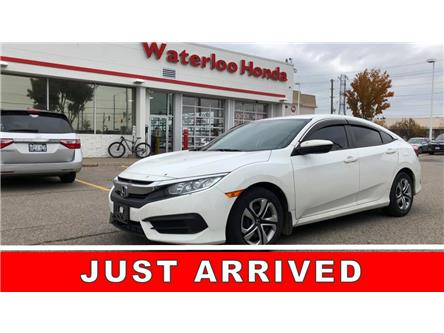 2016 Honda Civic LX (Stk: U6421) in Waterloo - Image 1 of 2