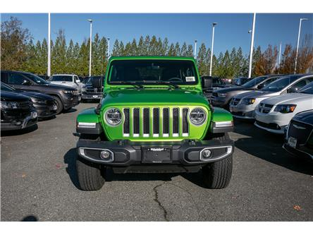 2020 Jeep Wrangler Unlimited Sahara (Stk: L138280) in Abbotsford - Image 2 of 24