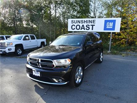 2015 Dodge Durango Limited (Stk: TK243243A) in Sechelt - Image 1 of 27