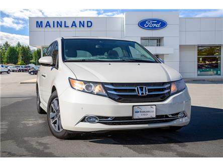 2017 Honda Odyssey Touring (Stk: P2641) in Vancouver - Image 1 of 22