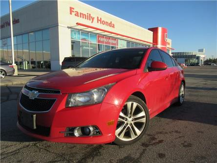 2012 Chevrolet Cruze LT Turbo | SUNROOF | FREE TIRES | (Stk: 171036T) in Brampton - Image 1 of 13
