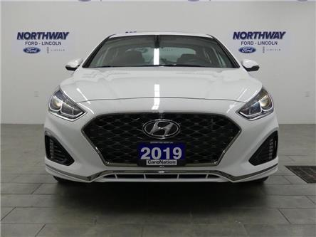 2019 Hyundai Sonata Essential | SPORT | SUNROOF | LEATHER | REAR CAM (Stk: DR701) in Brantford - Image 2 of 31