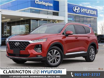 2020 Hyundai Santa Fe Preferred 2.4 w/Sun & Leather Package (Stk: 19815) in Clarington - Image 1 of 24