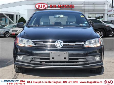 2016 Volkswagen Jetta 1.8 TSI Comfortline (Stk: 2A2045A) in Burlington - Image 2 of 28