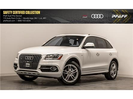 2016 Audi Q5 2.0T Technik (Stk: T17515A) in Woodbridge - Image 1 of 22