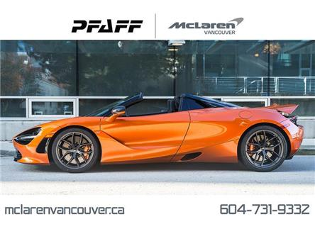 2020 McLaren 720S Spider Performance (Stk: MV0318) in Vancouver - Image 1 of 20