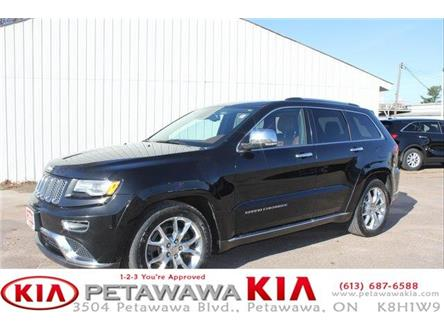 2015 Jeep Grand Cherokee Summit (Stk: 19225-1) in Petawawa - Image 1 of 29