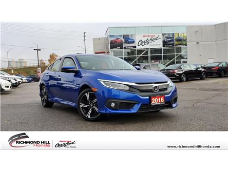 2016 Honda Civic Touring (Stk: 191392P) in Richmond Hill - Image 1 of 26