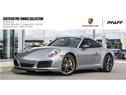 2019 Porsche 911 Carrera T Coupe (Stk: U8295) in Vaughan - Image 1 of 22