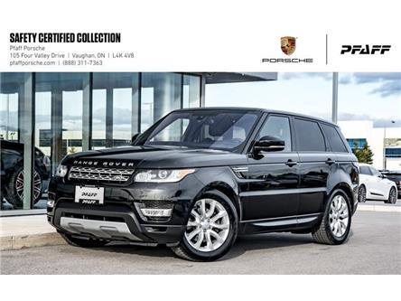 2016 Land Rover Range Rover Sport V6 HSE (2016.5) (Stk: U8302) in Vaughan - Image 1 of 22