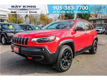2019 Jeep Cherokee Trailhawk (Stk: 6972) in Hamilton - Image 1 of 30