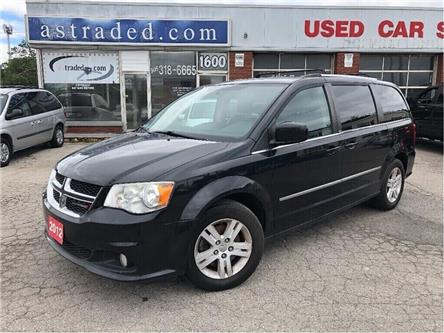 2012 Dodge Grand Caravan Crew (Stk: 19-7075A) in Hamilton - Image 1 of 19