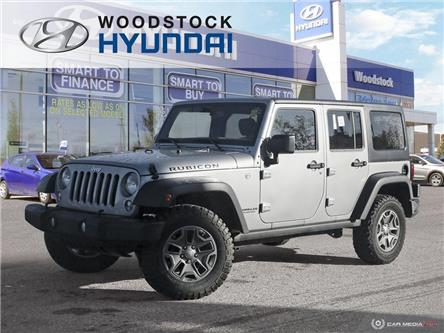2016 Jeep Wrangler Unlimited Rubicon (Stk: P1456) in Woodstock - Image 1 of 27