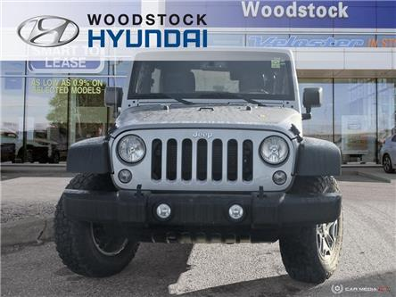 2016 Jeep Wrangler Unlimited Rubicon (Stk: P1456) in Woodstock - Image 2 of 27