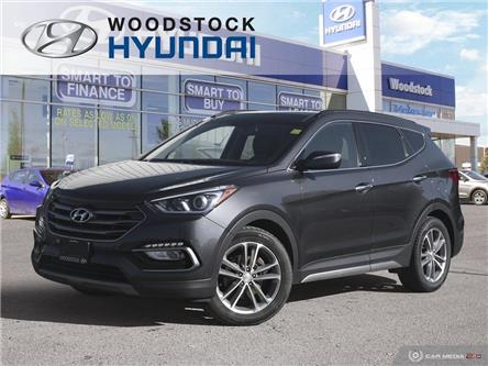 2017 Hyundai Santa Fe Sport 2.0T Limited (Stk: HD19048A) in Woodstock - Image 1 of 27