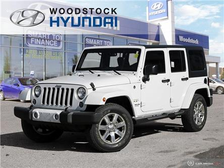 2016 Jeep Wrangler Unlimited Sahara (Stk: P1460) in Woodstock - Image 1 of 26