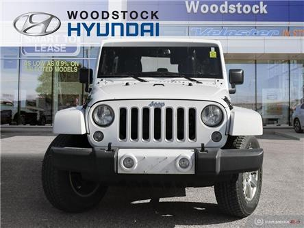 2016 Jeep Wrangler Unlimited Sahara (Stk: P1460) in Woodstock - Image 2 of 26