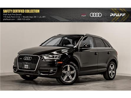 2015 Audi Q3 2.0T Progressiv (Stk: T17426A) in Woodbridge - Image 1 of 22