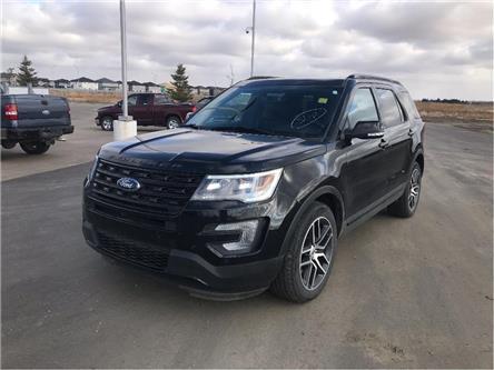 2017 Ford Explorer Sport (Stk: LEX020A) in Fort Saskatchewan - Image 1 of 22