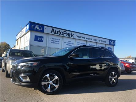 2019 Jeep Cherokee Limited (Stk: 19-53195) in Brampton - Image 1 of 27
