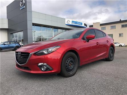 2014 Mazda Mazda3 GT-SKY (Stk: 19T126A) in Kingston - Image 1 of 15