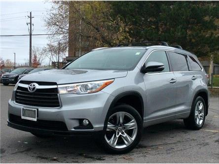 2016 Toyota Highlander Limited (Stk: P4752A) in Ottawa - Image 1 of 12