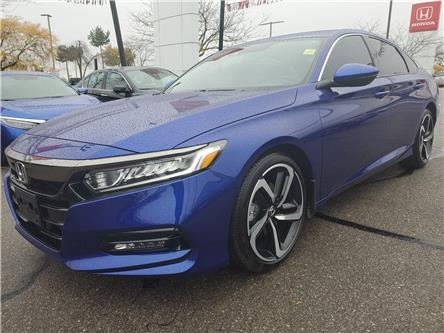 2019 Honda Accord Sport 1.5T (Stk: HC2550A) in Mississauga - Image 1 of 23