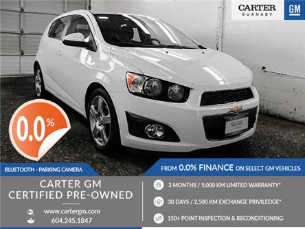 2015 Chevrolet Sonic LT Auto (Stk: T9-72901) in Burnaby - Image 1 of 22