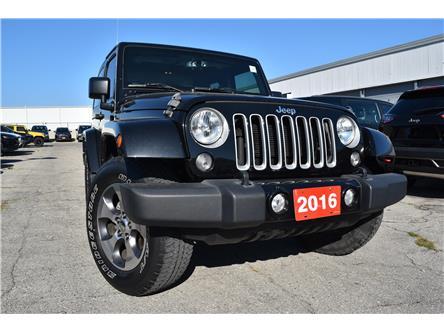 2016 Jeep Wrangler Sahara (Stk: 93680) in St. Thomas - Image 1 of 30