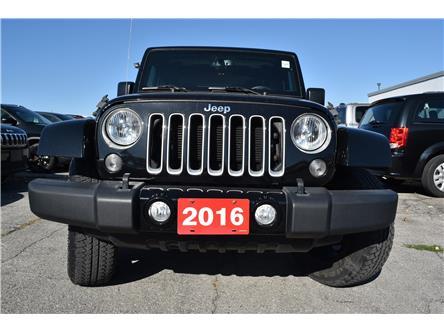2016 Jeep Wrangler Sahara (Stk: 93680) in St. Thomas - Image 2 of 30