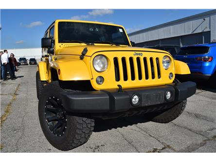 2015 Jeep Wrangler Unlimited Sahara (Stk: 59002) in St. Thomas - Image 1 of 30
