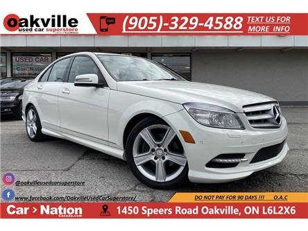 2011 Mercedes-Benz C-Class C300 4MATIC | LEATHER | SUNROOF | BLUETOOTH (Stk: P12694) in Oakville - Image 1 of 20