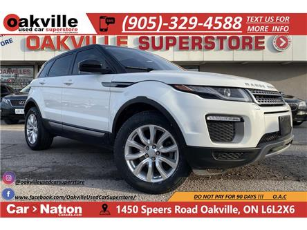 2017 Land Rover Range Rover Evoque SE | PANO ROOF | LEATHER | HTD SEATS | B/U CAM (Stk: P12731) in Oakville - Image 1 of 21