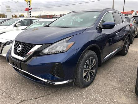 2020 Nissan Murano SV (Stk: W0043) in Cambridge - Image 1 of 5