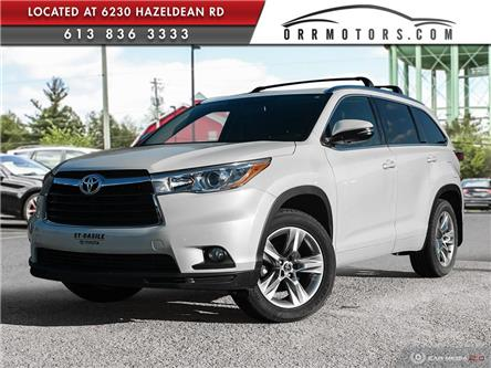 2016 Toyota Highlander Limited (Stk: 5936T) in Stittsville - Image 1 of 27
