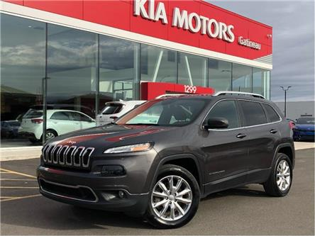 2016 Jeep Cherokee Limited (Stk: 19312A) in Gatineau - Image 1 of 21