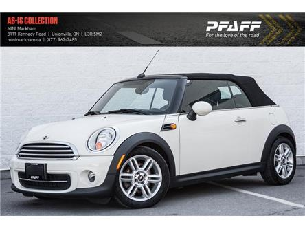 2014 MINI Convertible Cooper (Stk: M5491A) in Markham - Image 1 of 14