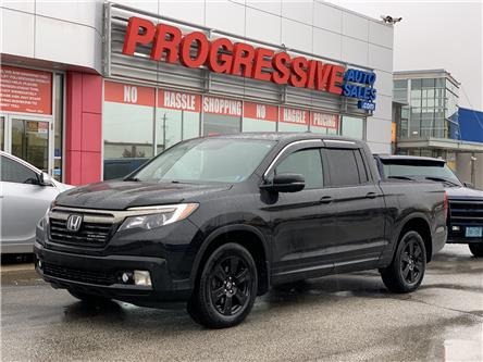 2017 Honda Ridgeline Black Edition (Stk: HB502780) in Sarnia - Image 1 of 11