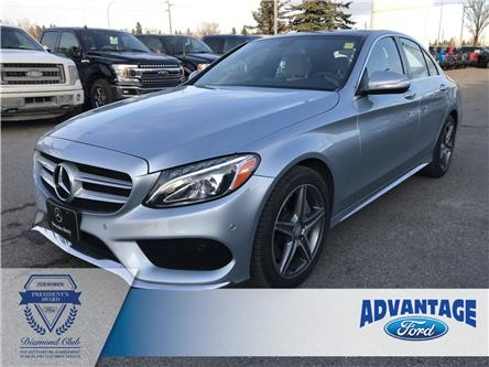 2015 Mercedes-Benz C-Class Base (Stk: K-1684A) in Calgary - Image 1 of 23