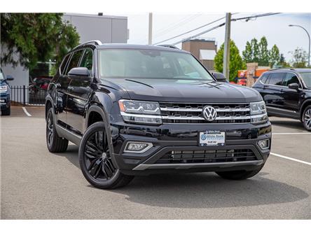 2019 Volkswagen Atlas 3.6 FSI Execline (Stk: KA605317) in Vancouver - Image 1 of 28