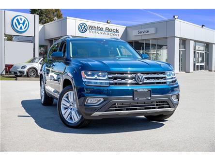 2019 Volkswagen Atlas 3.6 FSI Execline (Stk: KA594777) in Vancouver - Image 1 of 21