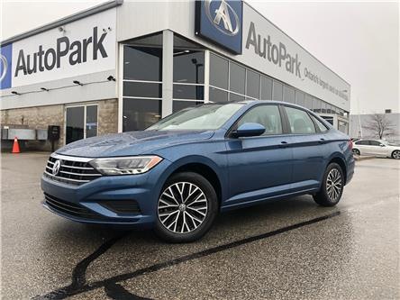 2019 Volkswagen Jetta 1.4 TSI Highline (Stk: 19-22899RJB) in Barrie - Image 1 of 26