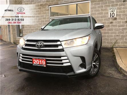 2019 Toyota Highlander LE FWD ALLOYS, 1 OWNER, BACK CAM, 8 PASSENGER, TSS (Stk: 45637A) in Brampton - Image 1 of 19