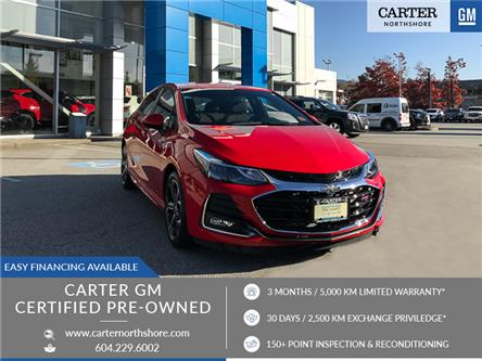 2019 Chevrolet Cruze LT (Stk: 9K16631) in North Vancouver - Image 1 of 26